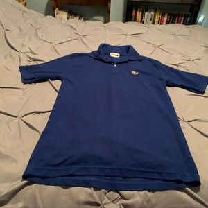 LACOSTE CHEMISE Men's Blue SS Polo. Size Medium